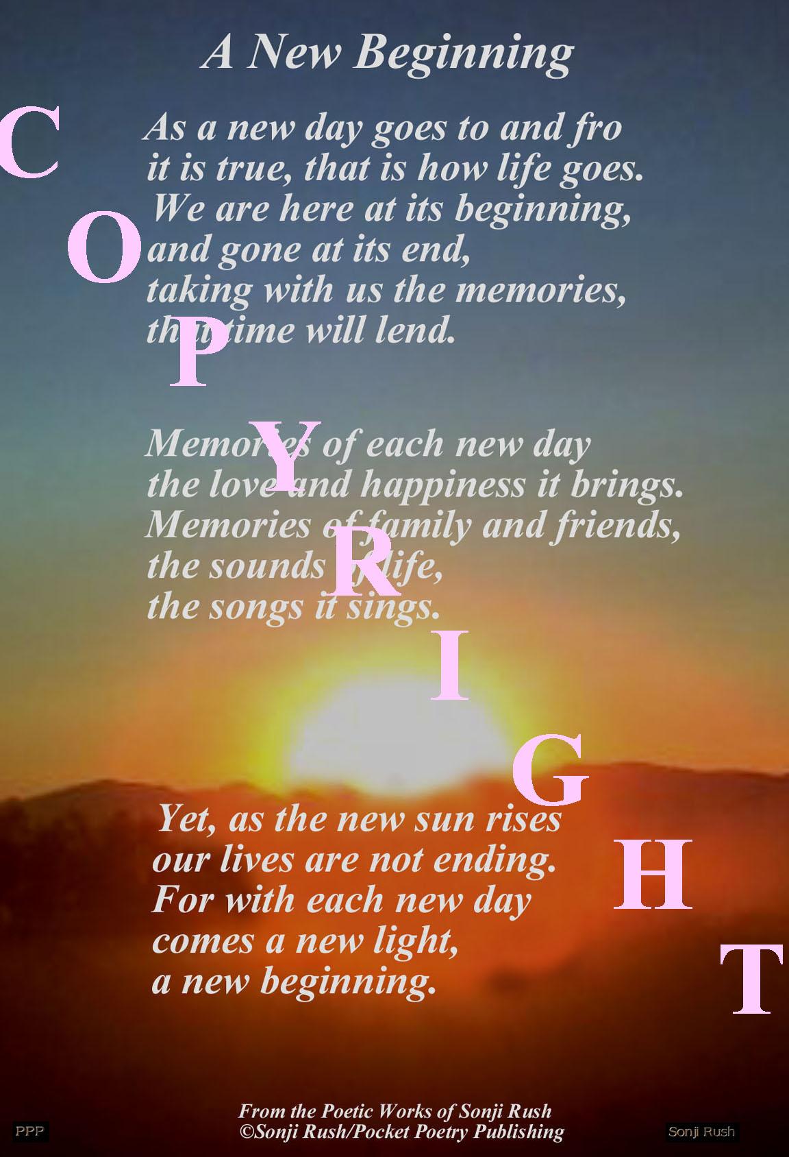new beginnings relationship poems love